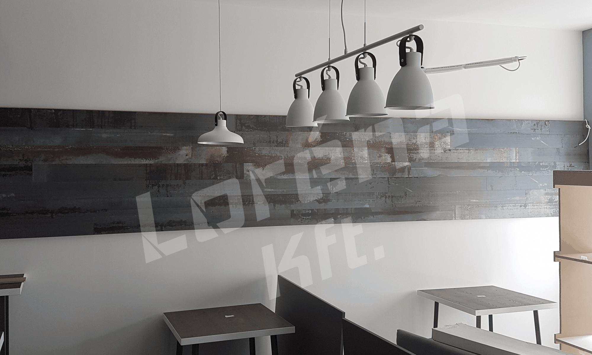 Étterem dekor világítás